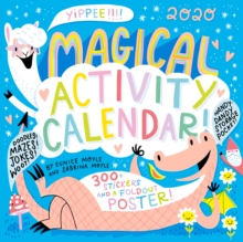 2020 Magical Activity Calendar Wall Calendar, Calendar Book