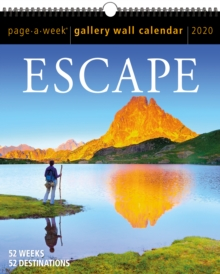 2020 Escape Gallery Wall, Calendar Book