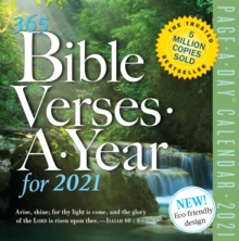 365 Bible Verses-A-Year Page-A-Day Calendar 2021, Calendar Book