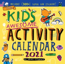 Kid's Awesome Activity Wall Calendar 2021, Calendar Book