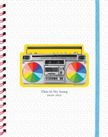 This Is My Song 17-Month Large Planner 2020-2021, Calendar Book