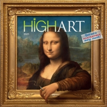 High Art Wall Calendar 2021, Calendar Book