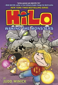 Hilo Book 4 : Waking the Monsters, Hardback Book