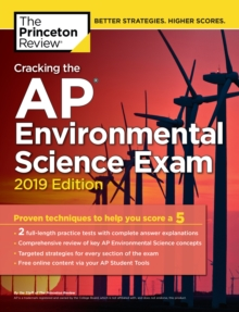 Cracking the AP Environmental Science Exam : 2019 Edition, Paperback / softback Book