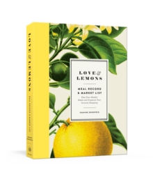 Love and Lemons : Meal Record and Market List Includes List Pad and Journal, Diary Book