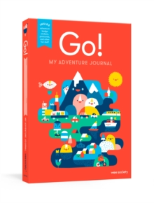 Go! Red : My Adventure Travel Journal, Diary Book
