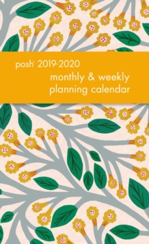 Posh: Trumpet Vines 2019-2020 Monthly/Weekly Diary, Diary Book