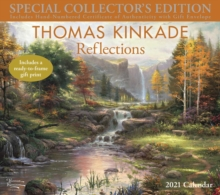 Thomas Kinkade Special Collector's Edition 2021 Deluxe Wall Calendar : Reflections, Calendar Book