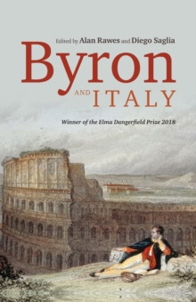 Byron and Italy, Paperback / softback Book