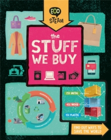 Eco STEAM: The Stuff We Buy, Hardback Book