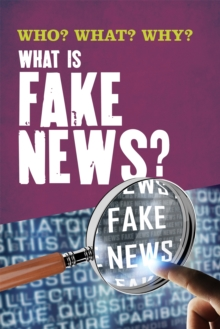 What Is Fake News?, Hardback Book