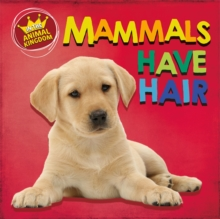 In the Animal Kingdom: Mammals Have Hair, Hardback Book