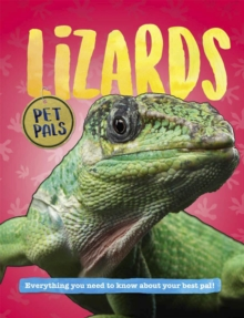 Pet Pals: Lizards, Hardback Book