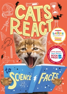 Cats React to Science Facts, Hardback Book
