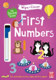 I'm Starting School: First Numbers : Wipe-clean book with pen, Paperback Book