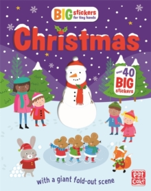 Big Stickers for Tiny Hands: Christmas : With scenes, activities and a giant fold-out picture, Paperback Book