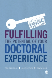 Fulfilling the Potential of Your Doctoral Experience, EPUB eBook