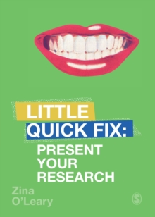 Present Your Research : Little Quick Fix, Paperback / softback Book