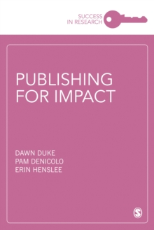 Publishing for Impact, Paperback / softback Book