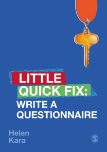 Write a Questionnaire : Little Quick Fix, PDF eBook
