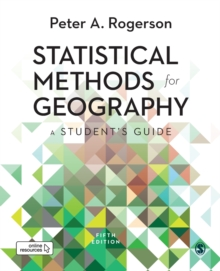 Statistical Methods for Geography : A Student's Guide, Paperback / softback Book