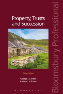 Property, Trusts and Succession, Paperback Book