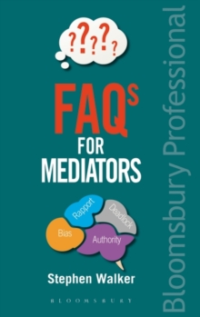 FAQs for Mediators, Paperback Book