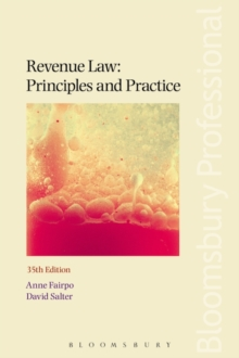 Revenue Law: Principles and Practice, Paperback Book