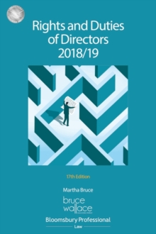 Rights and Duties of Directors 2018/19, Paperback / softback Book