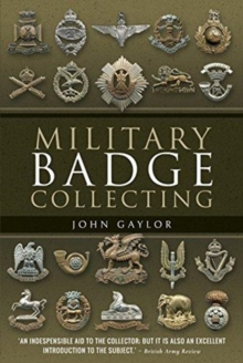 Military Badge Collecting, Paperback / softback Book