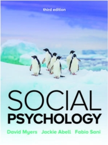 Social Psychology 3e, Paperback / softback Book