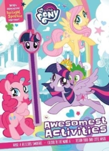 My Little Pony Awesomest Activities : With Special Twilight Sparkle Straw!,  Book