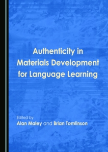 None Authenticity in Materials Development for Language Learning, PDF eBook