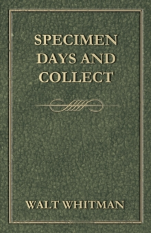 Specimen Days and Collect, EPUB eBook