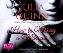 HOW TO MARRY A MARQUIS, CD-Audio Book