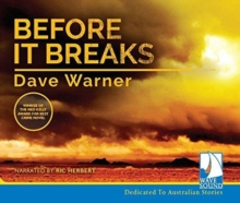 BEFORE IT BREAKS, CD-Audio Book