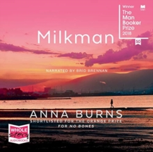 Milkman, CD-Audio Book