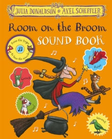 Room on the Broom Sound Book, Hardback Book