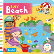 Busy Beach, Board book Book