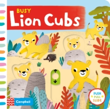 Busy Lion Cubs, Board book Book