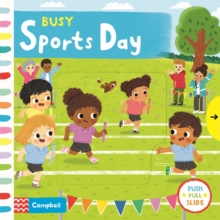 Busy Sports Day, Board book Book