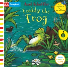 Freddy the Frog : A Push, Pull, Slide Book, Board book Book