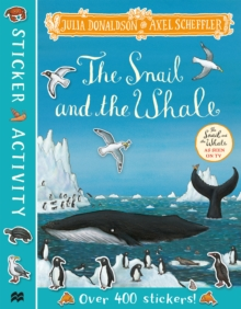 The Snail and the Whale Sticker Book, Paperback / softback Book
