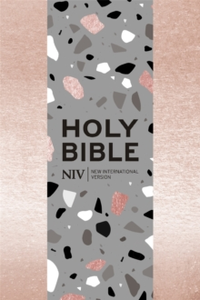 NIV Pocket Rose Gold Soft-tone Bible with Zip, Paperback / softback Book