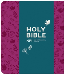 NIV Journalling Plum Soft-tone Bible with Clasp, Paperback / softback Book