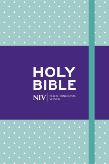NIV Pocket Mint Polka-Dot Notebook Bible, Hardback Book