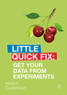 Get Your Data From Experiments : Little Quick Fix, PDF eBook