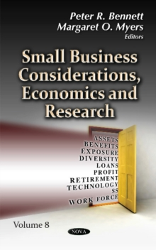 Small Business Considerations, Economics & Research : Volume 8, Hardback Book
