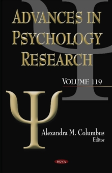 Advances in Psychology Research : Volume 119, Hardback Book