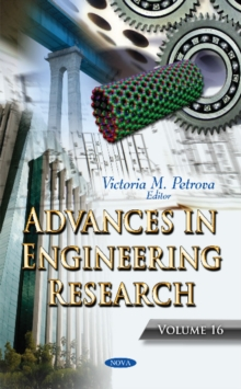 Advances in Engineering Research : Volume 16, Hardback Book